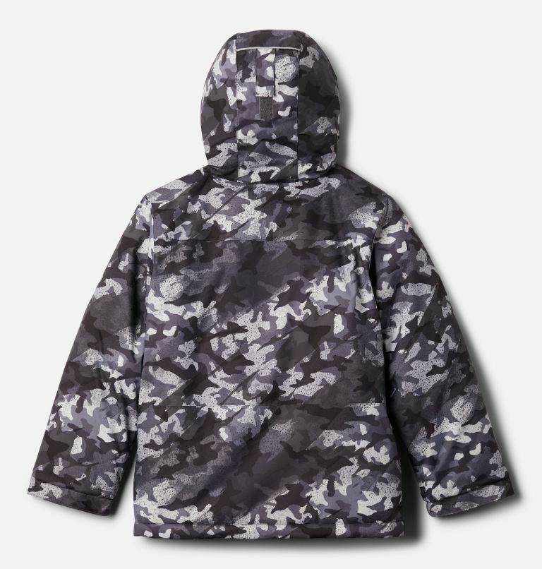 Lightning Lift™ Jacket | 024 | XXS Boys' Lightning Lift™ Jacket, Shark Brushed Camo Print, back