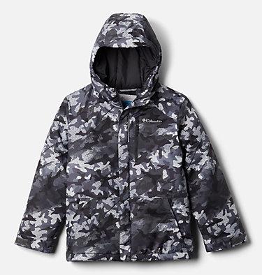 Boys' Lightning Lift™ Jacket Lightning Lift™ Jacket | 433 | XL, Shark Brushed Camo Print, front