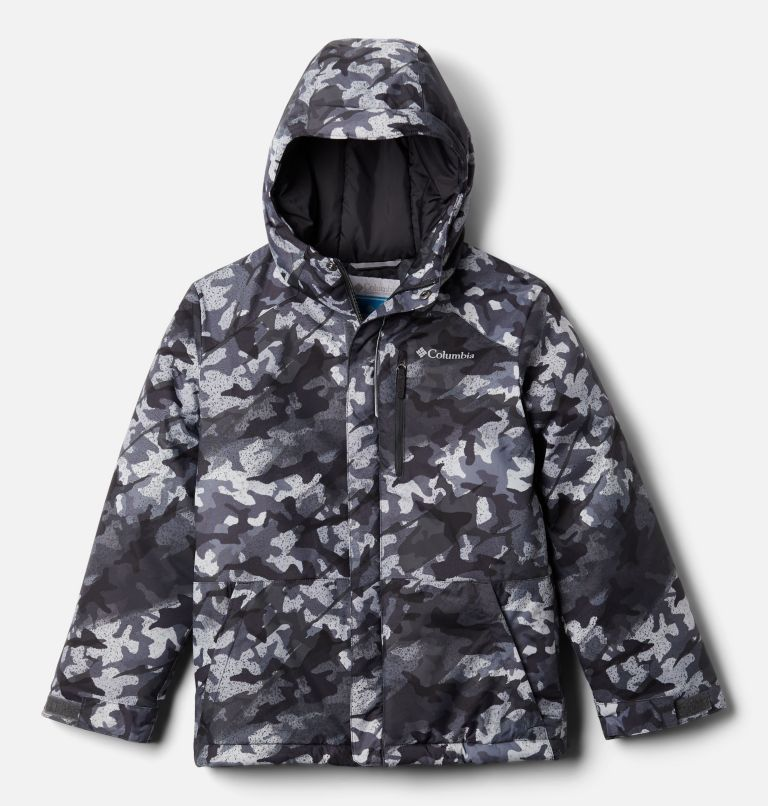 Lightning Lift™ Jacket | 024 | XXS Boys' Lightning Lift™ Jacket, Shark Brushed Camo Print, front