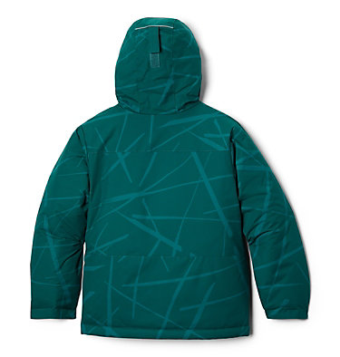 Manteau Lightening Lift pour garçon Lightning Lift™ Jacket | 617 | XS, Pine Green Spider Streets, back