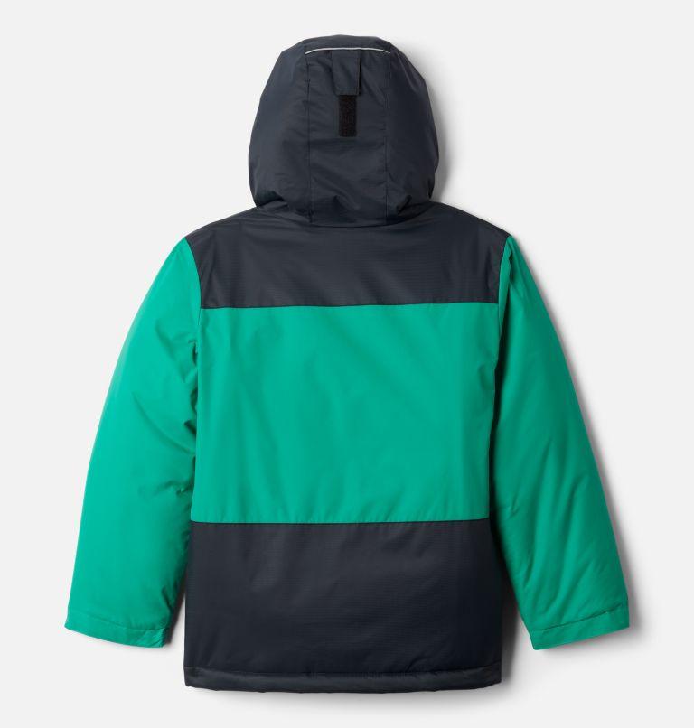 Lightning Lift™ Jacket | 374 | M Boys' Lightning Lift™ Jacket, Emerald Green, Black, back