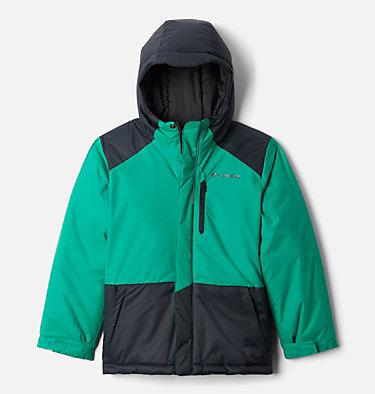 Boys' Lightning Lift™ Jacket Lightning Lift™ Jacket | 433 | XL, Emerald Green, Black, front