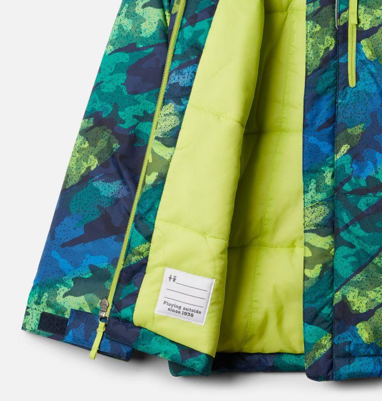 Lightning Lift™ Jacket   386   M Boys' Lightning Lift™ Jacket, Bright Chartreuse Brushed Camo Print, a1