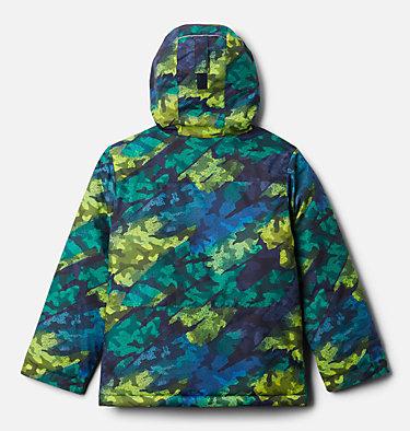 Manteau Lightening Lift pour garçon Lightning Lift™ Jacket | 617 | XS, Bright Chartreuse Brushed Camo Print, back