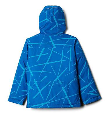 Manteau Lightening Lift pour garçon Lightning Lift™ Jacket | 617 | XS, Ocean Blue Spider Streets, back