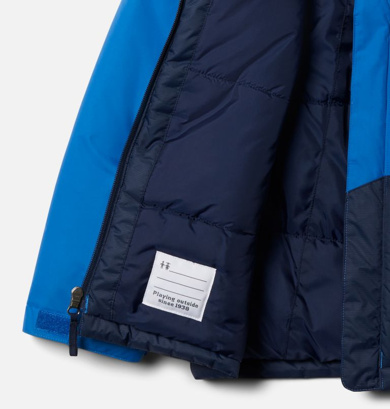 Lightning Lift™ Jacket | 432 | XL Boys' Lightning Lift™ Jacket, Bright Indigo, Collegiate Navy, a1
