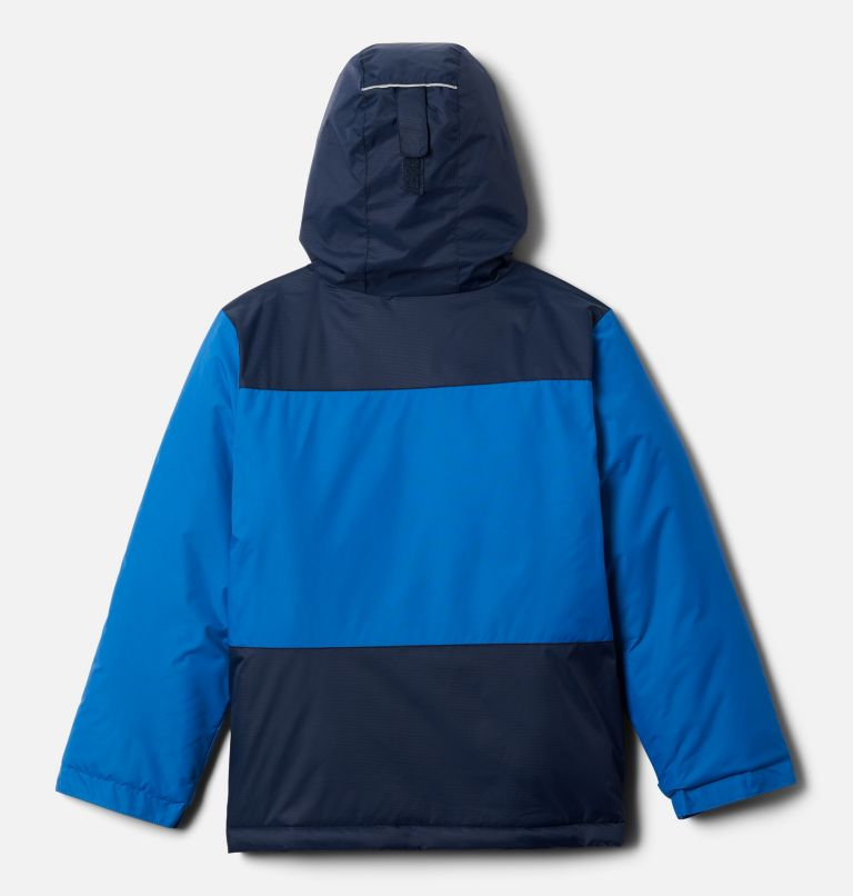 Lightning Lift™ Jacket | 432 | XL Boys' Lightning Lift™ Jacket, Bright Indigo, Collegiate Navy, back