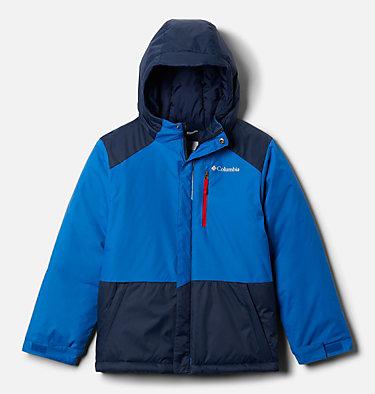 Boys' Lightning Lift™ Jacket Lightning Lift™ Jacket | 433 | XL, Bright Indigo, Collegiate Navy, front