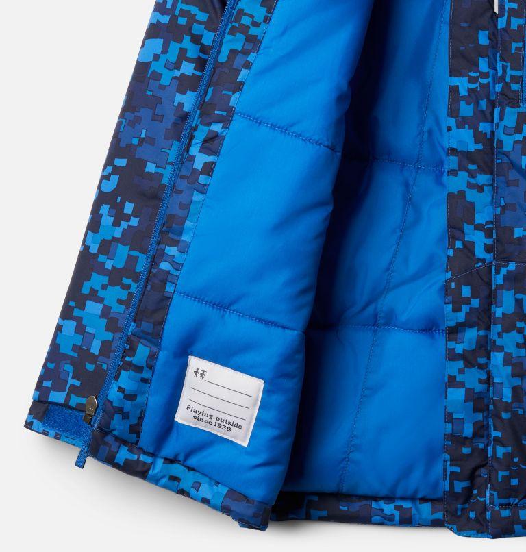 Lightning Lift™ Jacket | 433 | L Boys' Lightning Lift™ Jacket, Bright Indigo Weave Print, a1