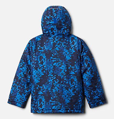Boys' Lightning Lift™ Jacket Lightning Lift™ Jacket | 433 | XL, Bright Indigo Weave Print, back