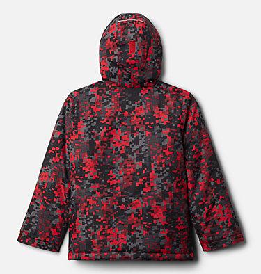 Manteau Lightening Lift pour garçon Lightning Lift™ Jacket | 617 | XS, Mountain Red Weave Print, back