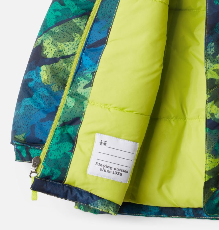 Lightning Lift™ Jacket | 386 | 3T Boys' Toddler Lightning Lift™ Jacket, Bright Chartreuse Brushed Camo Print, a1