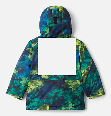 Boys' Toddler Lightning Lift™ Jacket Lightning Lift™ Jacket | 432 | 4T, Bright Chartreuse Brushed Camo Print, back