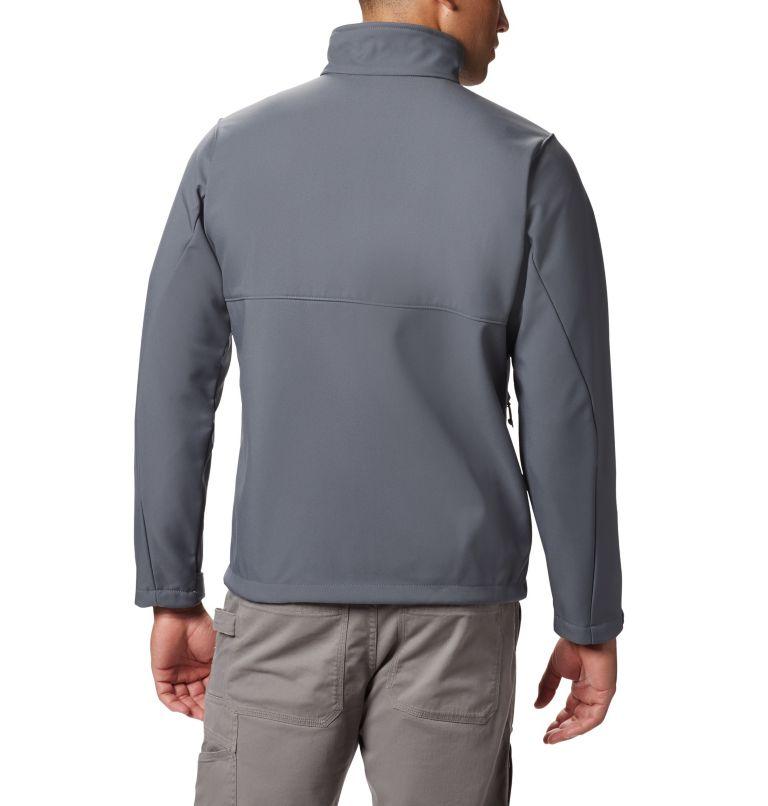 Ascender™ Softshell Jacket | 053 | S Men's Ascender™ Softshell Jacket, Graphite, back