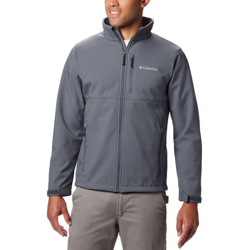 Ascender™ Softshell Jacket | 053 | S Men's Ascender™ Softshell Jacket, Graphite, front