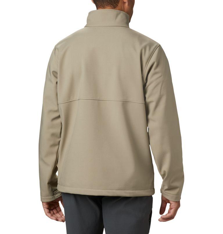 Ascender™ Softshell Jacket | 222 | S Men's Ascender™ Softshell Jacket, Tusk, back