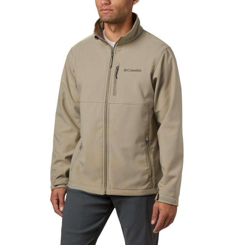 Ascender™ Softshell Jacket | 222 | S Men's Ascender™ Softshell Jacket, Tusk, front