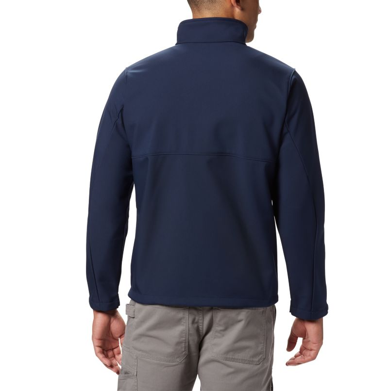 Ascender™ Softshell Jacket | 464 | XXL Men's Ascender™ Softshell Jacket, Collegiate Navy, back