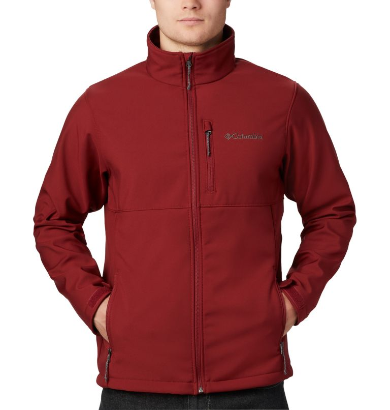 Ascender™ Softshell Jacket | 664 | XL Men's Ascender™ Softshell Jacket, Red Jasper, a1