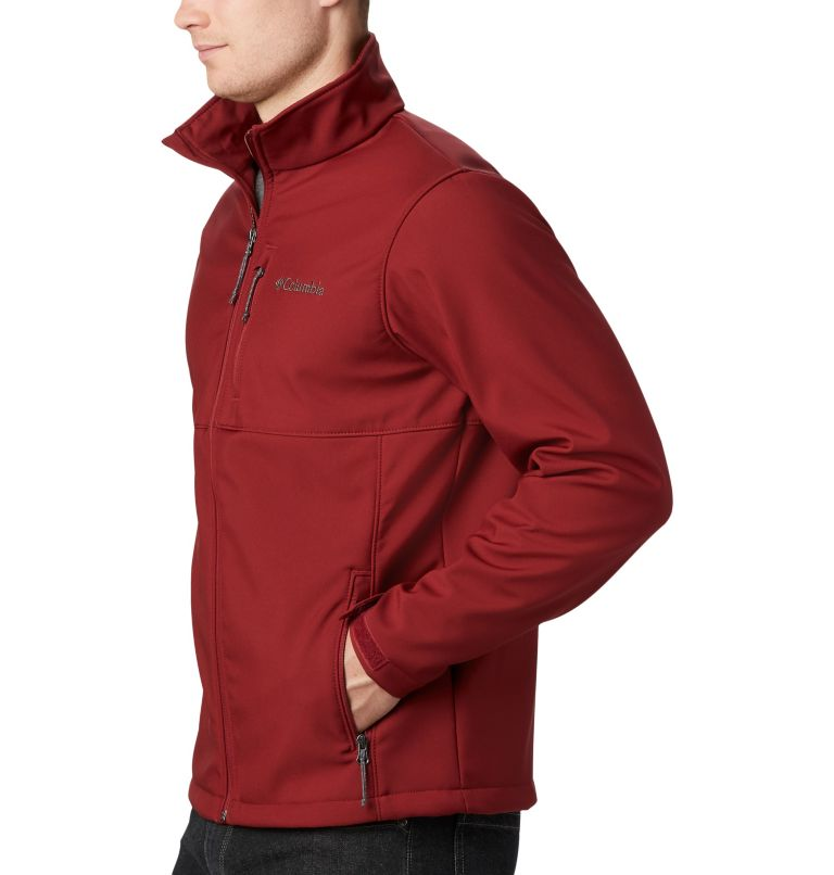 Ascender™ Softshell Jacket | 664 | XL Men's Ascender™ Softshell Jacket, Red Jasper, a2