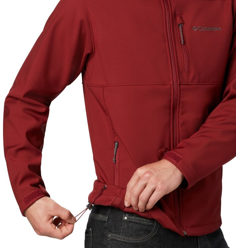 Ascender™ Softshell Jacket | 664 | XL Men's Ascender™ Softshell Jacket, Red Jasper, a3