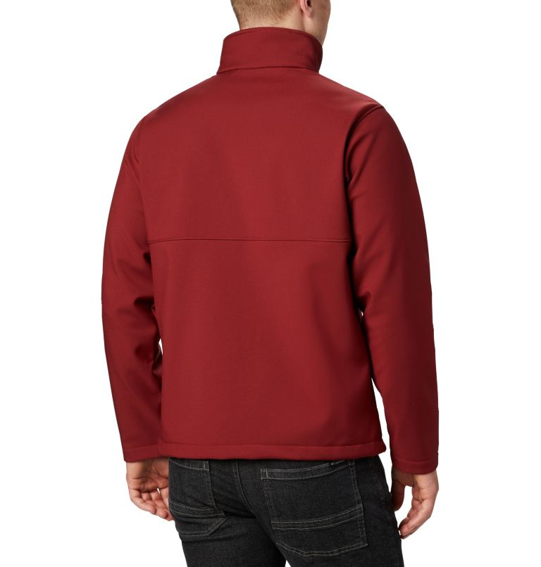 Ascender™ Softshell Jacket | 664 | XL Men's Ascender™ Softshell Jacket, Red Jasper, back