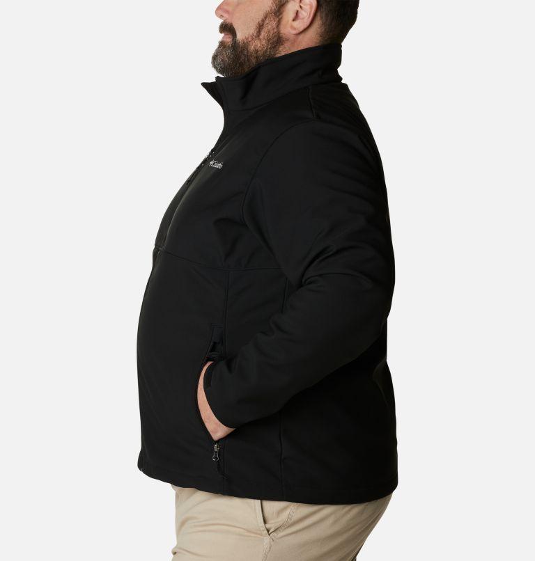 Ascender™ Softshell Jacket   010   2X Men's Ascender™ Softshell Jacket - Big, Black, a1