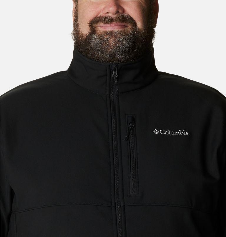 Ascender™ Softshell Jacket   010   2X Men's Ascender™ Softshell Jacket - Big, Black, a2