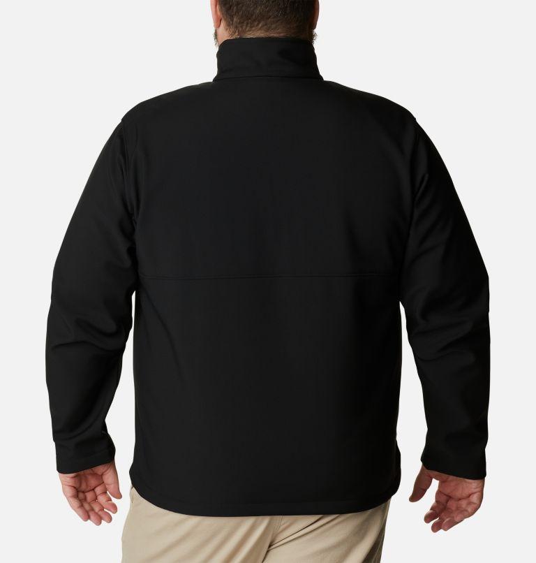 Ascender™ Softshell Jacket | 010 | 1X Men's Ascender™ Softshell Jacket - Big, Black, back