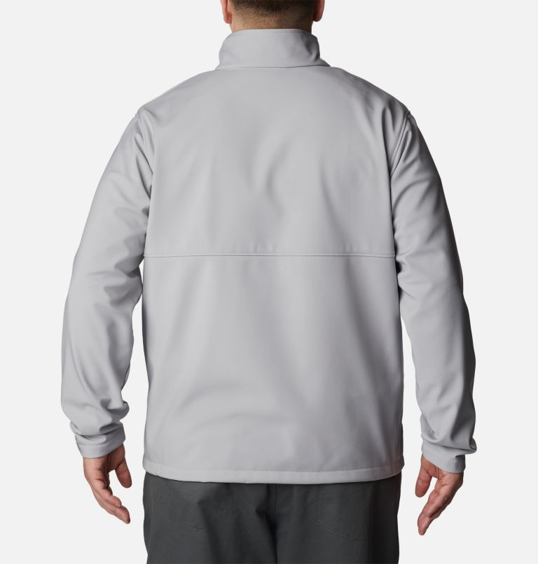 Ascender™ Softshell Jacket | 039 | 5X Men's Ascender™ Softshell Jacket - Big, Columbia Grey, back