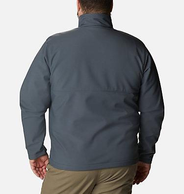 Men's Ascender™ Softshell Jacket - Big Ascender™ Softshell Jacket | 009 | 1X, Graphite, back