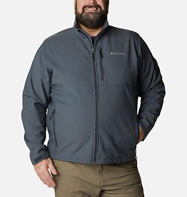 Men's Ascender™ Softshell Jacket - Big Ascender™ Softshell Jacket | 009 | 1X, Graphite, front