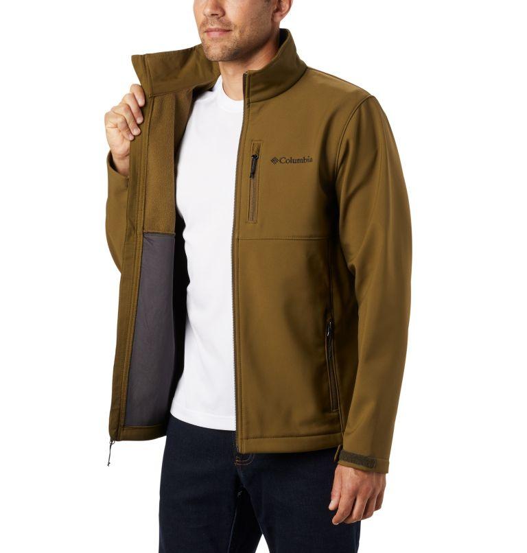 Ascender™ Softshell Jacket   327   1X Men's Ascender™ Softshell Jacket - Big, New Olive, a3