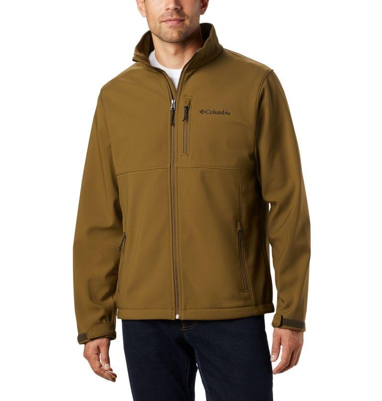 Ascender™ Softshell Jacket   327   1X Men's Ascender™ Softshell Jacket - Big, New Olive, front