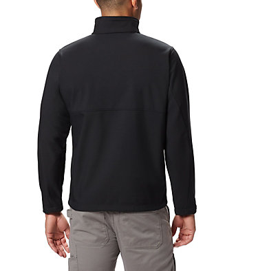 Men's Ascender™ Softshell Jacket - Tall Ascender™ Softshell Jacket | 397 | 4XT, Black, back
