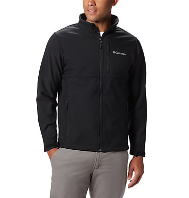 Men's Ascender™ Softshell Jacket - Tall Ascender™ Softshell Jacket | 397 | 4XT, Black, front