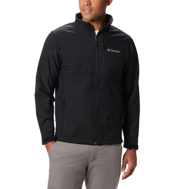 Ascender™ Softshell Jacket   010   3XT Men's Ascender™ Softshell Jacket - Tall, Black, front