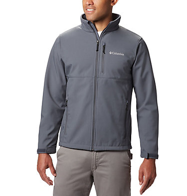 Men's Ascender™ Softshell Jacket - Tall Ascender™ Softshell Jacket | 397 | 4XT, Graphite, front