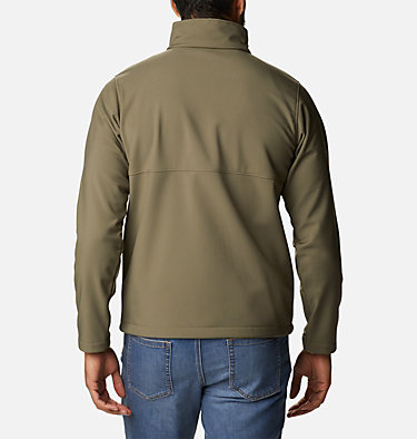 Men's Ascender™ Softshell Jacket - Tall Ascender™ Softshell Jacket | 397 | 4XT, Stone Green, back