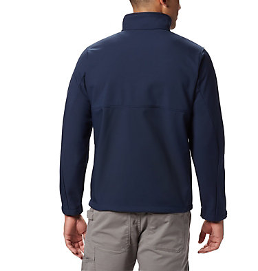 Men's Ascender™ Softshell Jacket - Tall Ascender™ Softshell Jacket | 397 | 4XT, Collegiate Navy, back