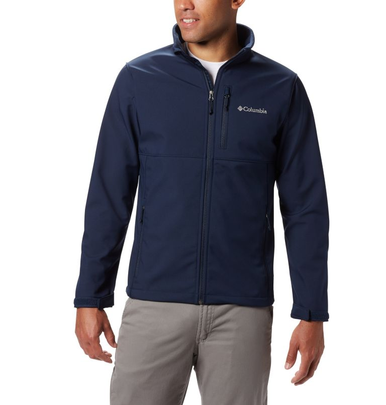 Ascender™ Softshell Jacket | 464 | XLT Coquille souple Ascender™ pour homme – Grande taille, Collegiate Navy, front