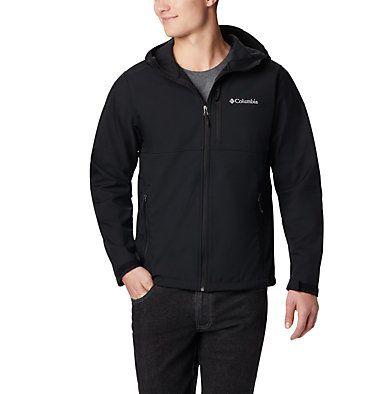 Men's Ascender™ Hooded Softshell Jacket Ascender™ Hooded Softshell Jacket | 397 | S, Black, front
