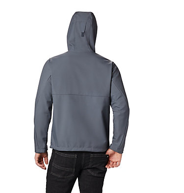 Men's Ascender™ Hooded Softshell Jacket Ascender™ Hooded Softshell Jacket | 397 | S, Graphite, back