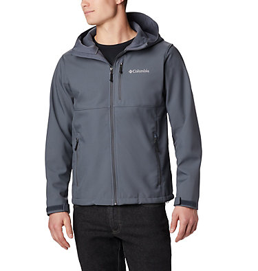 Men's Ascender™ Hooded Softshell Jacket Ascender™ Hooded Softshell Jacket | 397 | S, Graphite, front