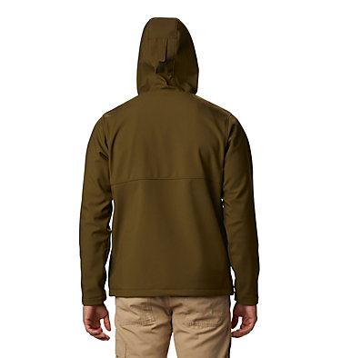 Men's Ascender™ Hooded Softshell Jacket Ascender™ Hooded Softshell Jacket | 397 | S, New Olive, back