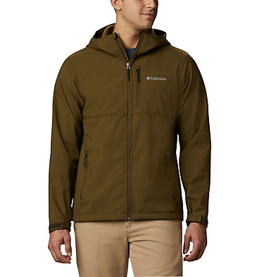Men's Ascender™ Hooded Softshell Jacket Ascender™ Hooded Softshell Jacket | 397 | S, New Olive, front
