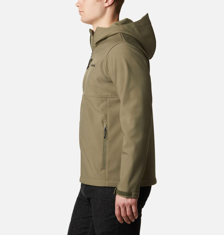 Ascender™ Hooded Softshell Jacket | 397 | M Men's Ascender™ Hooded Softshell Jacket, Stone Green, a1