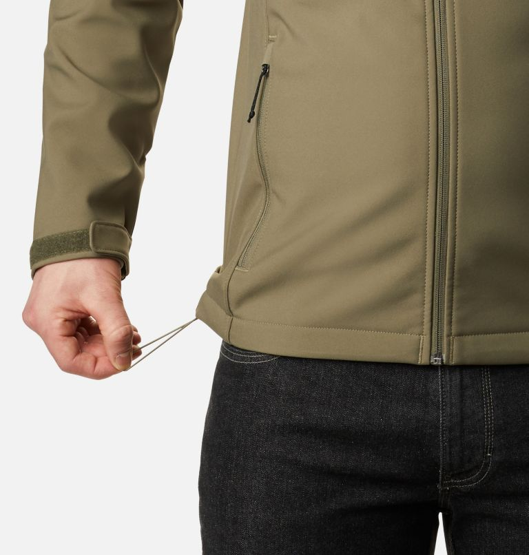 Ascender™ Hooded Softshell Jacket | 397 | M Men's Ascender™ Hooded Softshell Jacket, Stone Green, a4