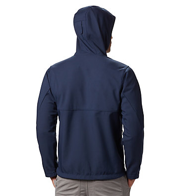 Men's Ascender™ Hooded Softshell Jacket Ascender™ Hooded Softshell Jacket | 397 | S, Collegiate Navy, back