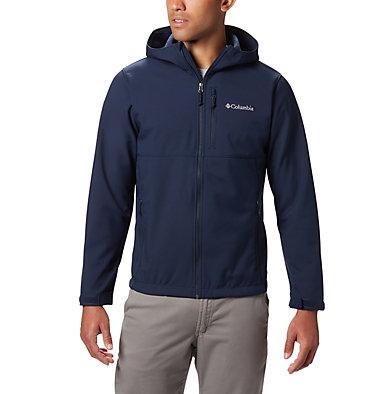 Men's Ascender™ Hooded Softshell Jacket Ascender™ Hooded Softshell Jacket | 397 | S, Collegiate Navy, front